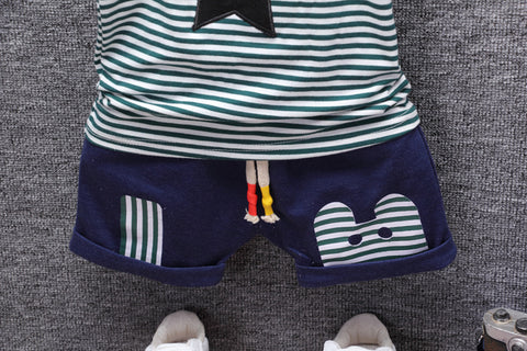 Image of Star Shirt and Shorts Set