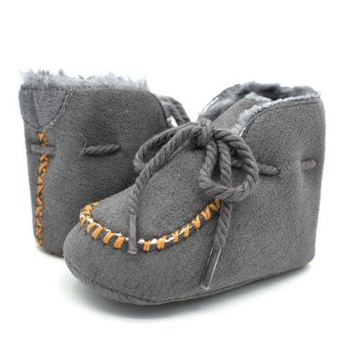 Image of Sheepskin Baby Booties