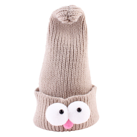 Skyscraper Cartoon Baby Knitted Hat