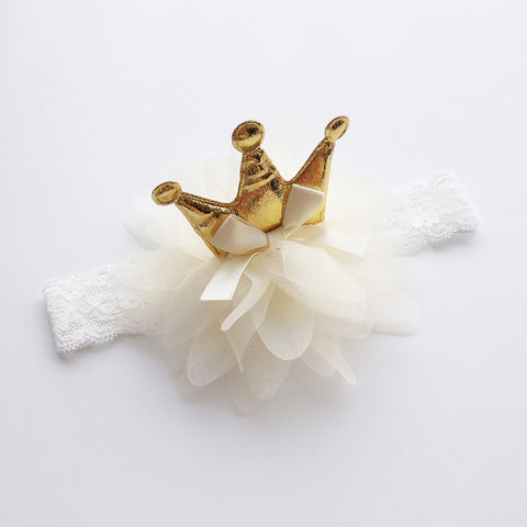 Image of Crown Tulle Headband