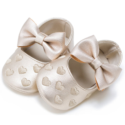 Image of Baby Heart Moccasins
