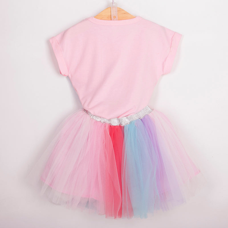 Unicorn Top and Tutu Skirt Set