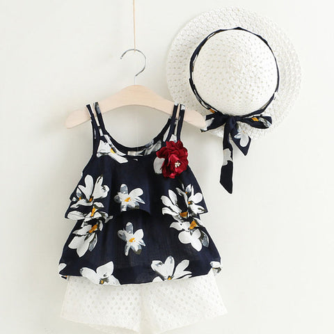 Image of Summer Sunblouse with Hat