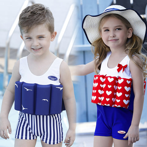 Image of Kids One Piece Buoyant Swimwear Suit