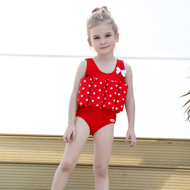 Kids One Piece Buoyant Swimwear Suit
