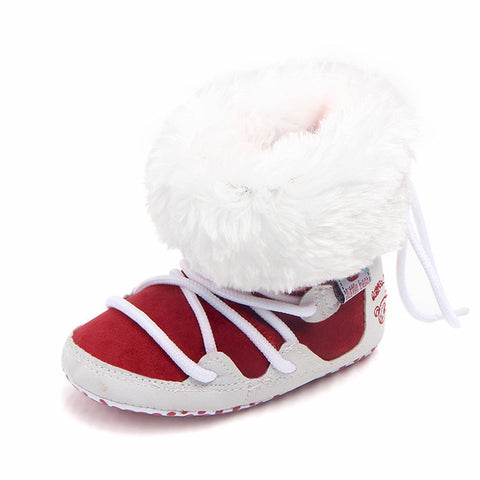 Image of Soft Sole Lace-Up Snow Boots