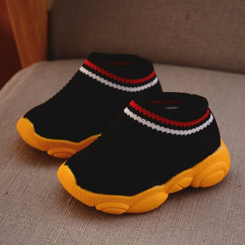 Image of Early Days - Baby First Walker Loafers Sneakers (Robber bottom)