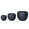 Rounded Bowl Planter - Dark