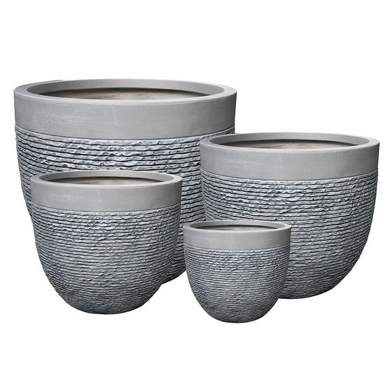 Rounded Bowl Planter - Package