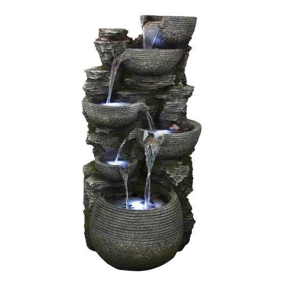 Natural Bowl Fountain – Dark