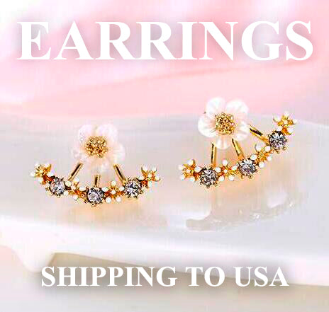 EARRINGS Express shipping (3 days) only for USA .
