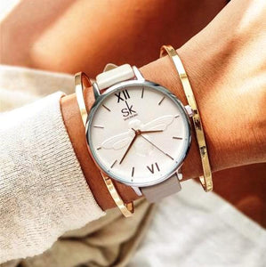 Adorable bee luxury watches Beige color