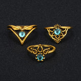 Bohemian vintage rings  9pcs/set