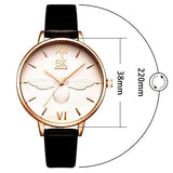 Adorable bee luxury watches Black color strap