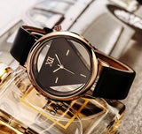 Hollow inverted triangle luxury watches