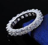 Fancy ladies ring paved with 22 pieces AAA austria zircon
