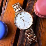 Luxury classic watches with dial of pearl
