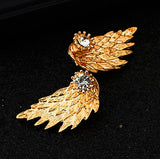 Cute Gothic Angel Wing Stud Earrings Ear Jacket for Women Unique Fashion MengPa Jewelry
