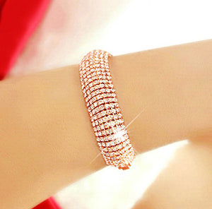 Beautiful rhinestone bracelet