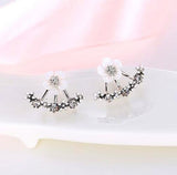 Cute cherry flower blossoms earrings