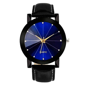 Trendy blue dial watches