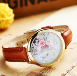 Cute 3d clay mini world watches with rhinestones