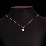 OL Style Cubic Zirconia Chain Necklace