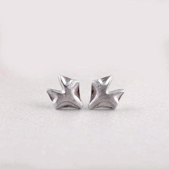 Cute tiny fox stud earrings