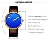 Fashion minimalist design casual watches Three colors