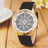 Cute flower petals watches Two colors