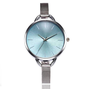 Casual  stainless steel watches with different colors dials