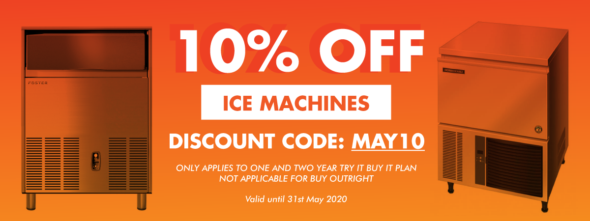 10% Off Ice Machines
