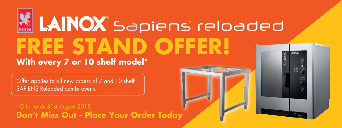 Lainox Sapiens Reloaded Combis - FREE STAND OFFER