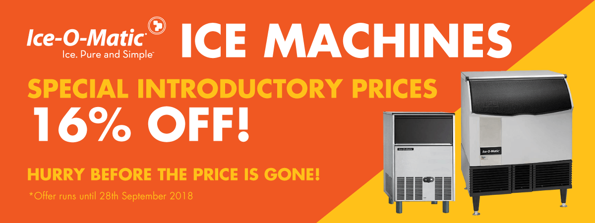 Ice-O-Matic Introductory Offer