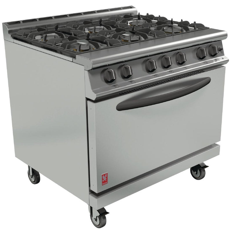 Falcon Six Burner Open Top Range : G3101D