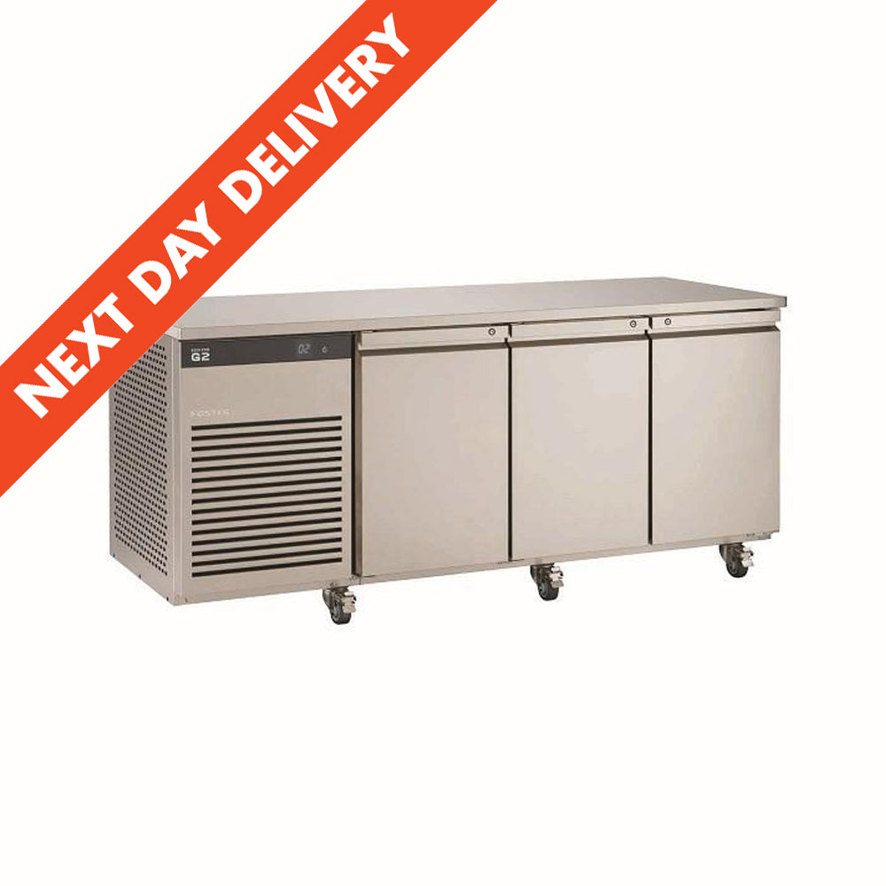 Next Day Delivery Foster EcoPro Three Door Refrigerated Counter EP1/3H : EP1/3H 12-176