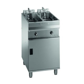 Valentine Twin Pan Twin Twin Basket Turbo Fryer 500mm : EV02525 T