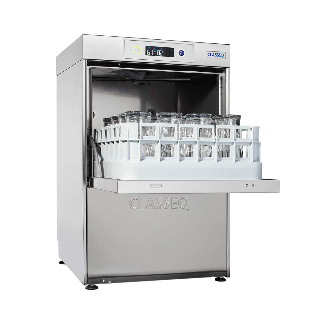 Classeq Duo Undercounter Glasswasher: G400DUO