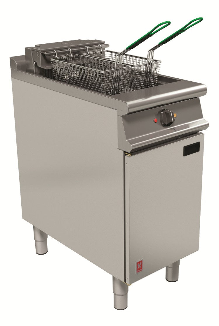 Falcon Single Pan, Twin basket fryer (No filtration) : E3840