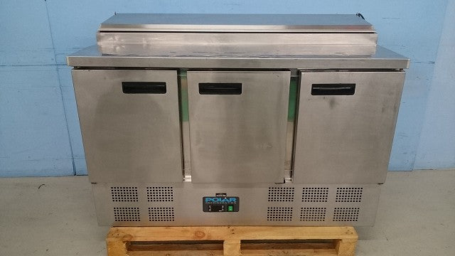 Polar Undercounter Fridge with Garnish Wells