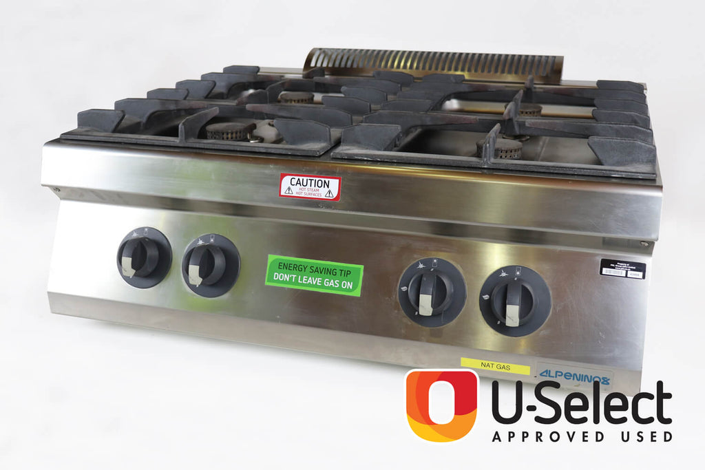 CEP 4-Burner Gas Boiling Top