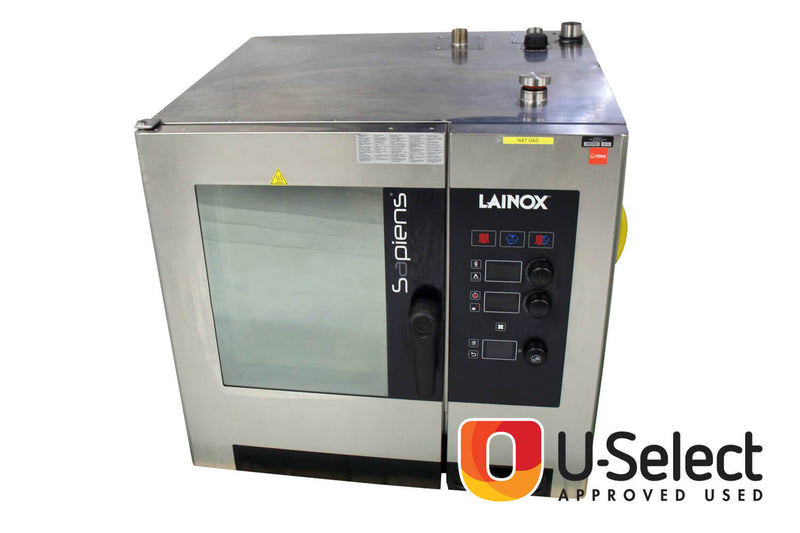 Falcon Lainox Sapiens 7 Rack Gas Combination Oven SAGB071R
