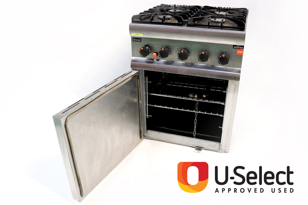 Lincat Four Burner Oven Range Gas