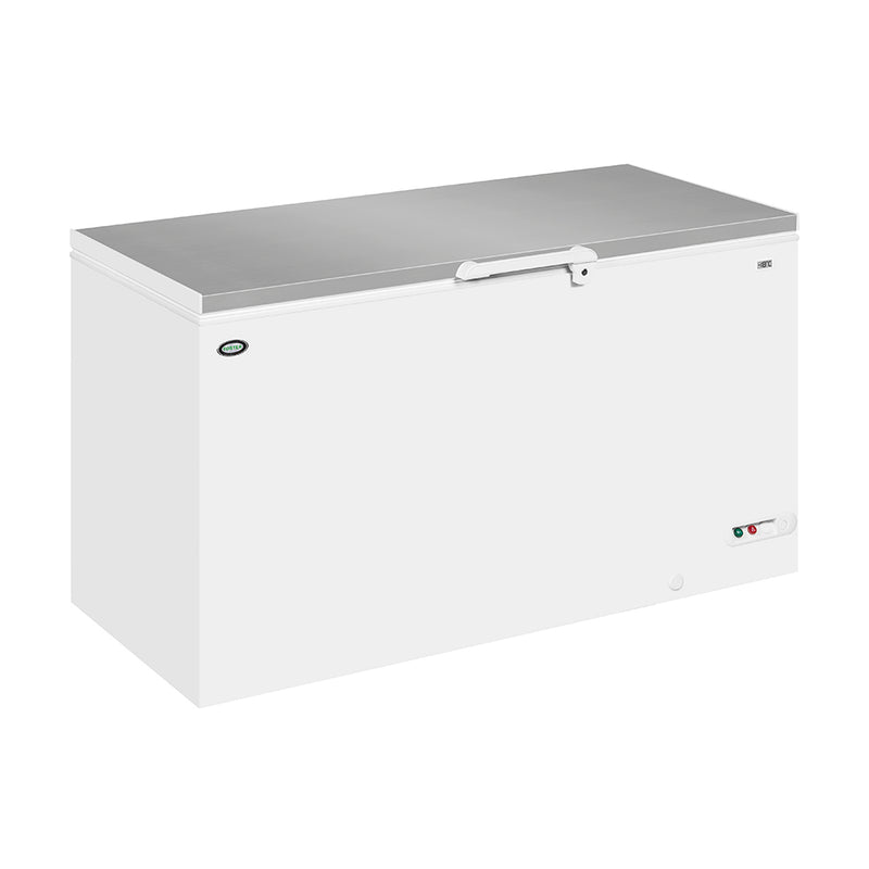 Side View Foster 504 Litre Chest Freezer FCF505