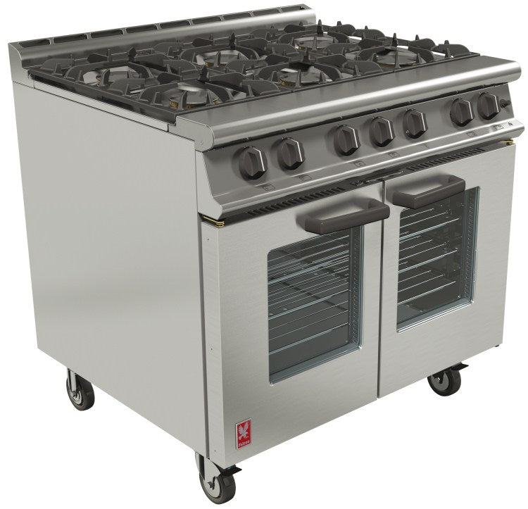 Falcon Open Top, Gas Fan-Assisted Oven Range : G3106
