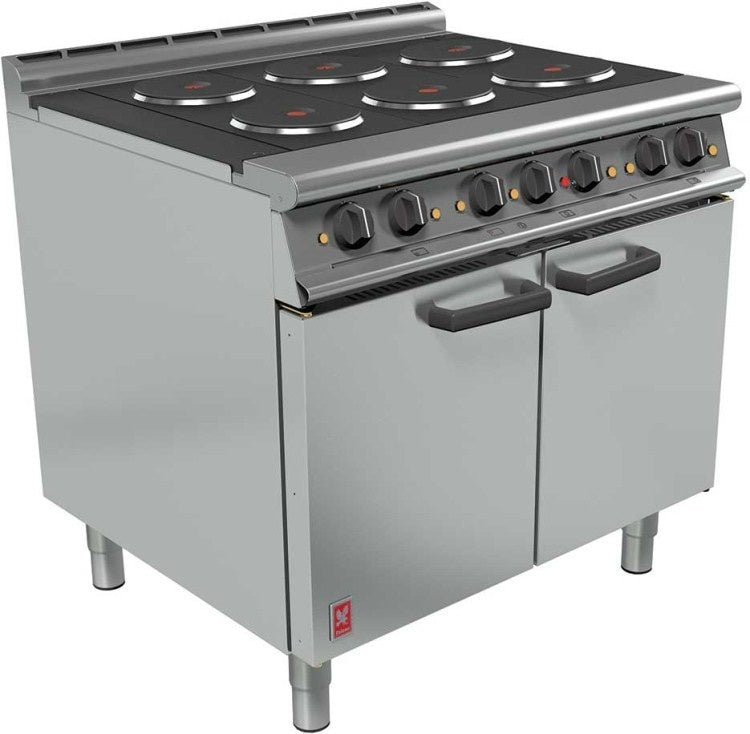 Falcon Six Hotplate Oven Range : E3101