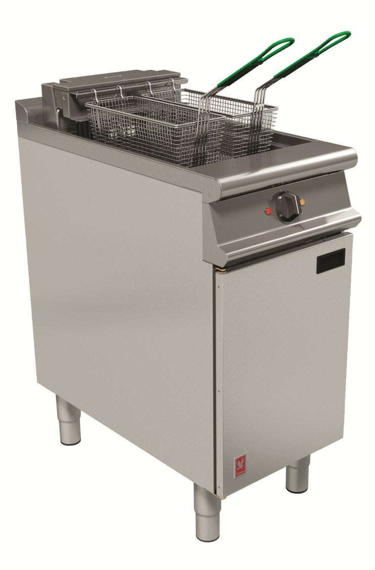 Falcon Single Pan, Twin Basket Fryer with Filtration : E3840F