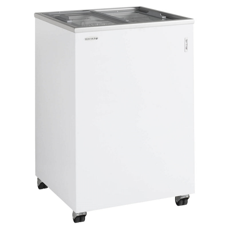 Interlevin Sliding Flat Glass Lid Chest Freezer : IC100SC
