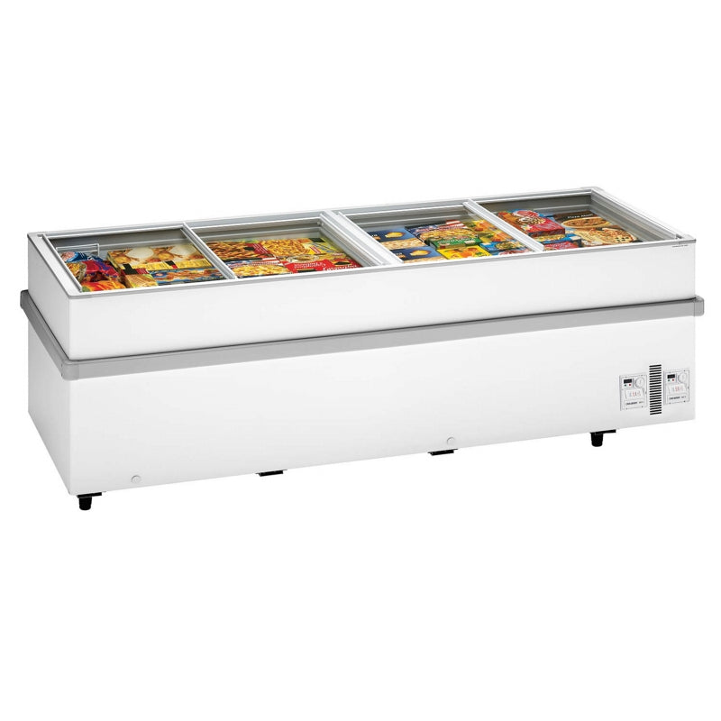 Interlevin Island Site Freezer : 900CHV WH
