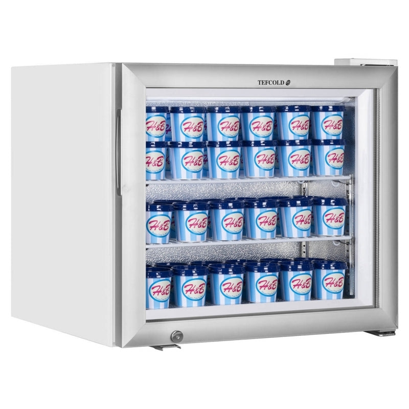 Interlevin Glass Door Display Freezer : UF100GP